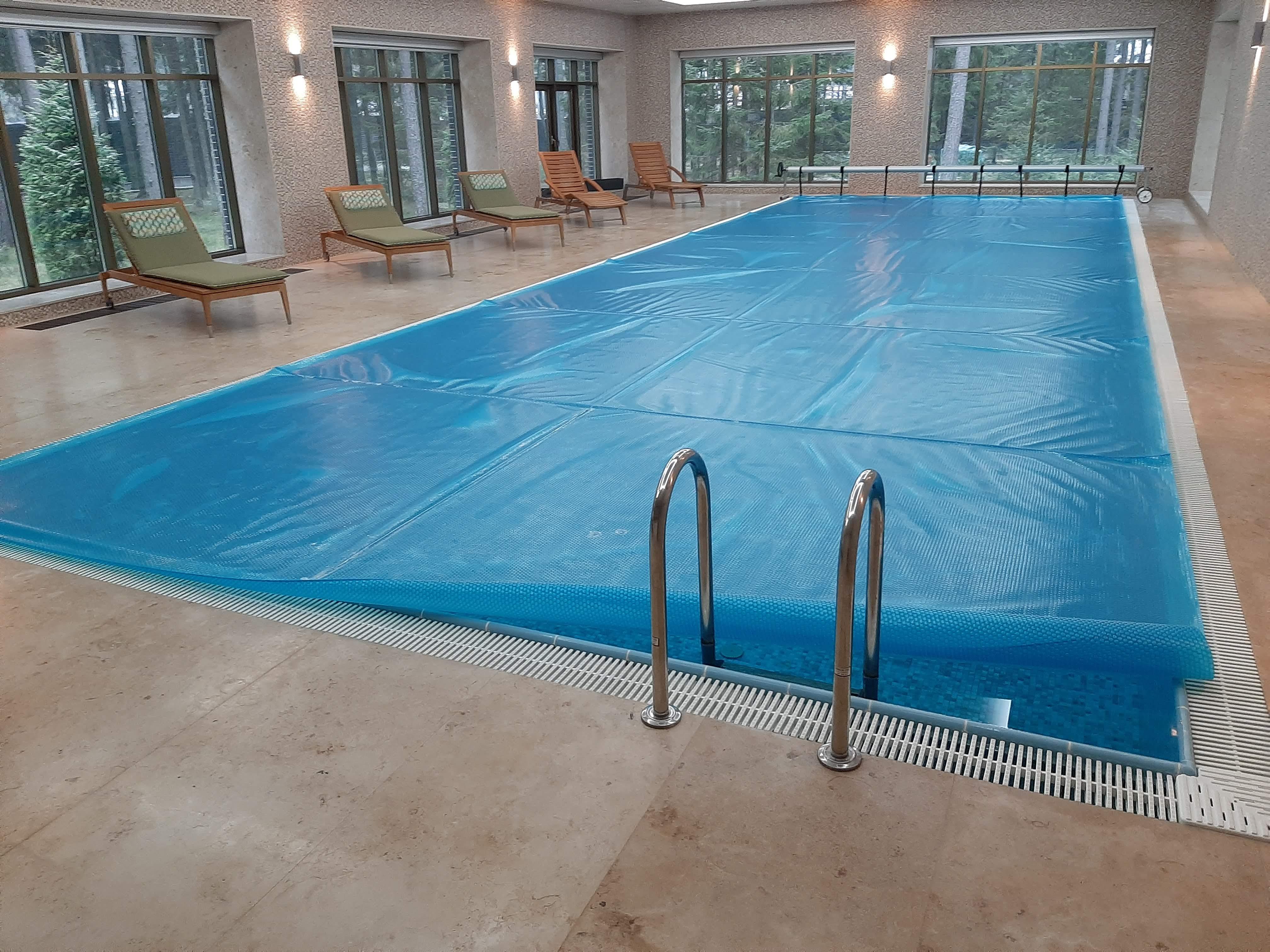 Обслуживание бассейна в частном доме