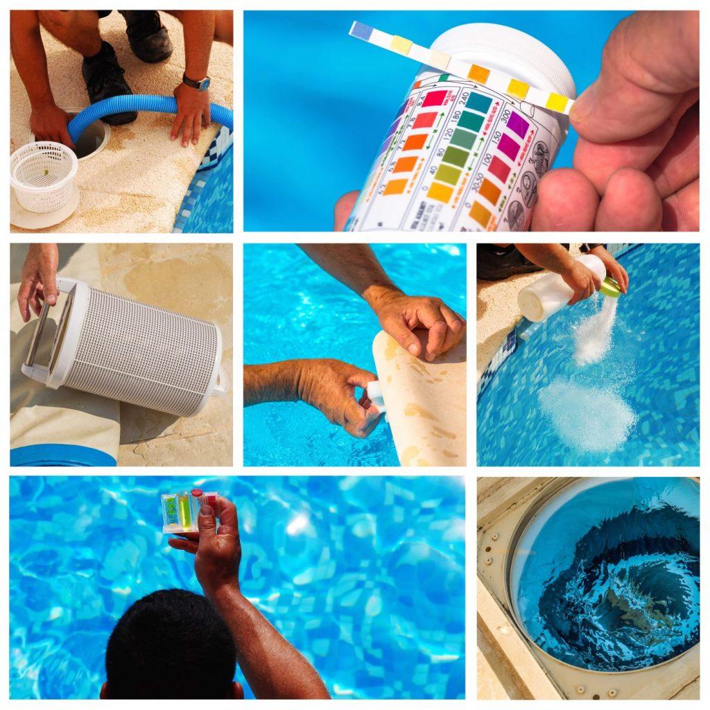 Как защитить ваш бассейн от водорослей