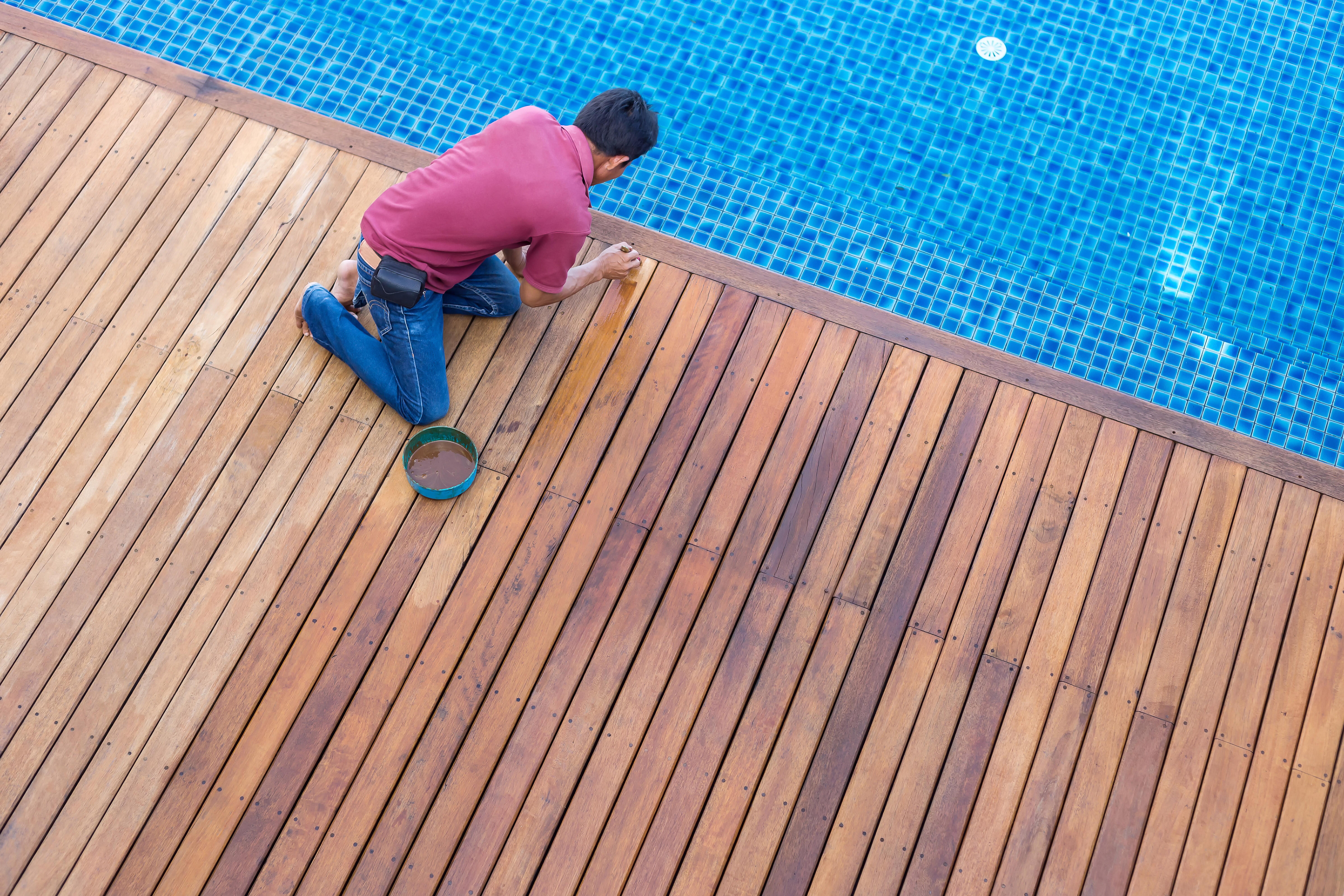 Отделочные работы в бассейне